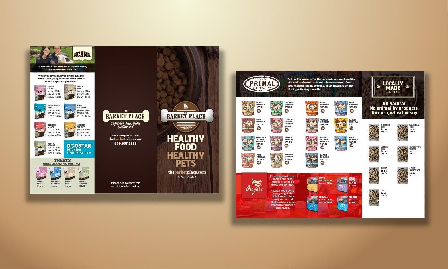 barket place trifold menu webtec